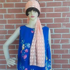Cejon poly decorative scarf,  72 x 18 in